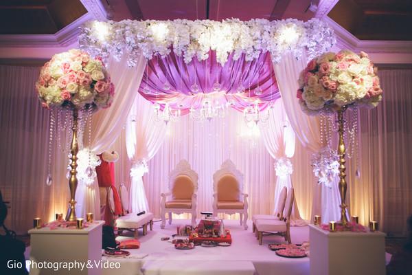 indian wedding,ceremony,indian wedding ceremony,indian ceremony,ceremony decor,ceremony mandap,mandap,venue,ceremony venue,floral and decor,planning and design,floral arrangements,flowers
