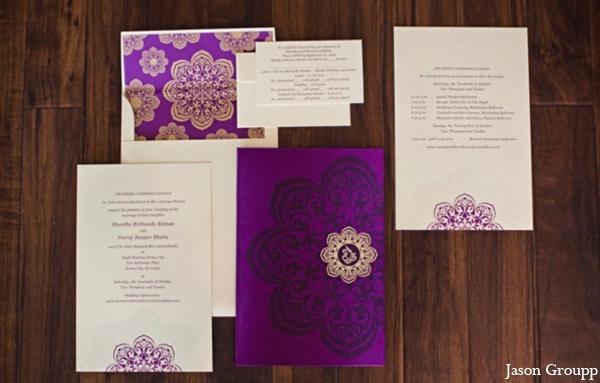Indian Wedding Invitation Stationary Paper Inspiration
