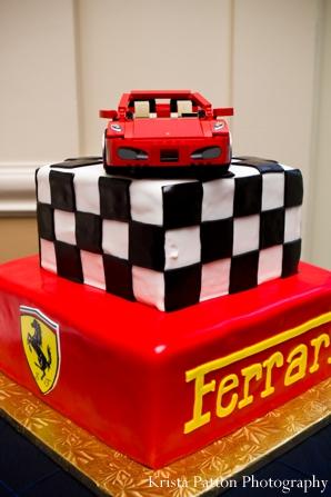 Indian Wedding Grooms Cake Ferrari Theme Photo 4556