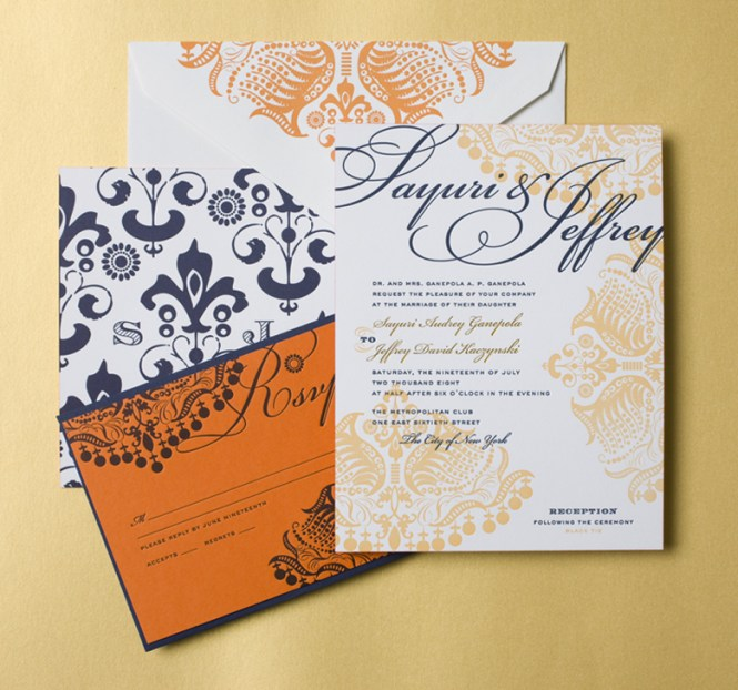 Indian Wedding Invitations By Cheree
