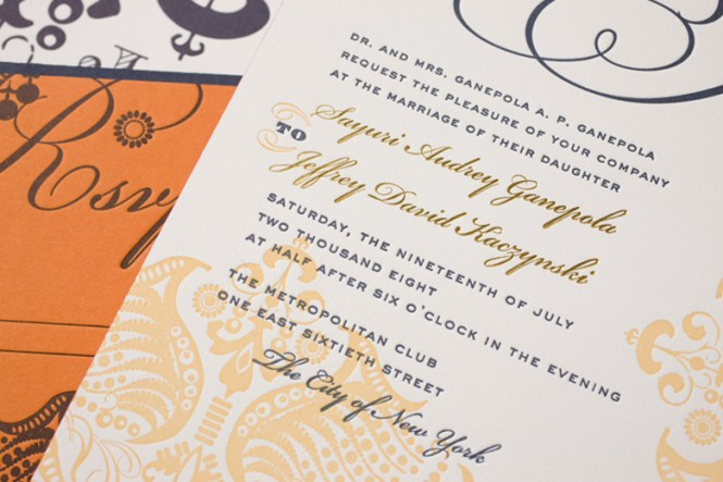 Indian Wedding Invitations Edmonton New
