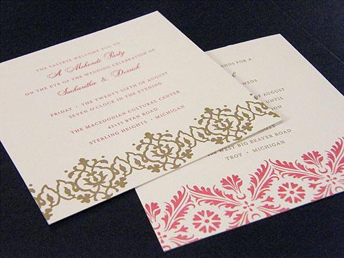 Sumptuous Indian Wedding Cards Usa