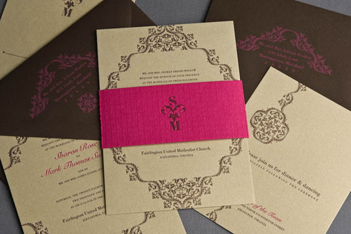 Anese Cherry Blossom Invitation Suite With Rsvp