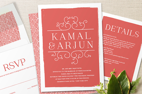 Minted Exquisite Wedding Invitations From The