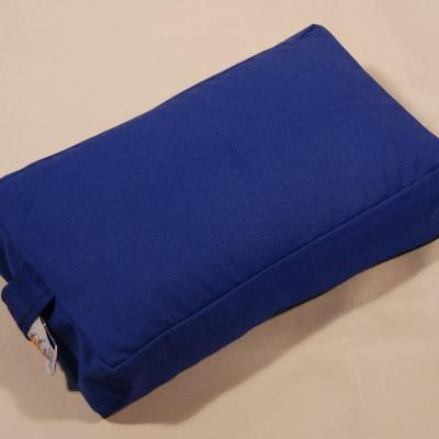 3 inch Rectangle cushion-blue