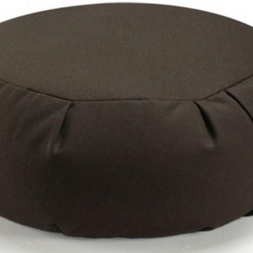 Zafu_Meditation_Cushion_Hugger_Mugger-chocolate