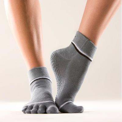 Non-Slip Yoga Toe Socks by ToeSox