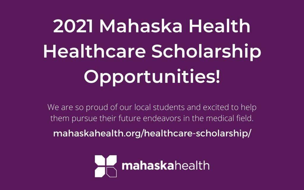 Mahaska Health Healthcare Scholarship 1