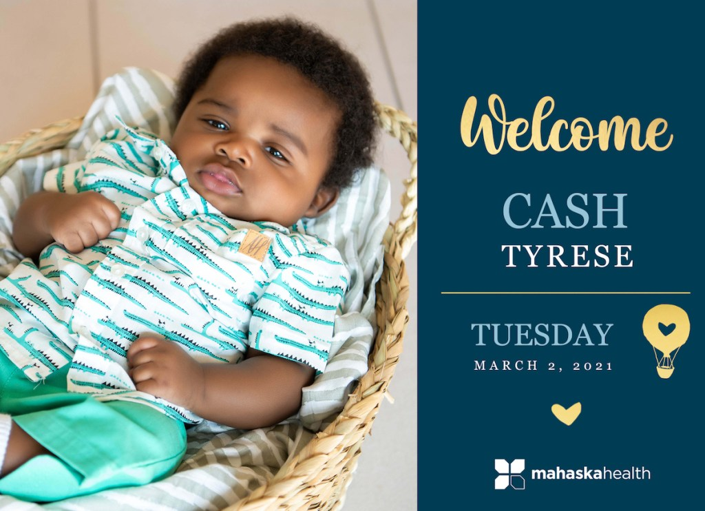 Welcome Cash Tyrese! 8