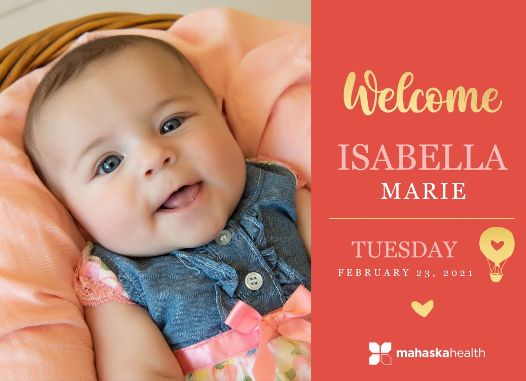 Welcome Isabella Marie! 8