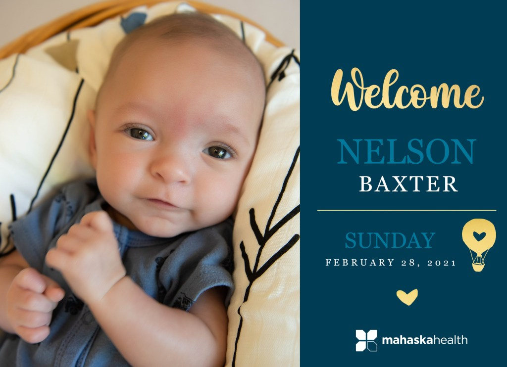 Welcome Nelson Baxter! 8