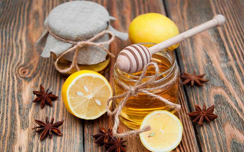 Miel limon remedio casero