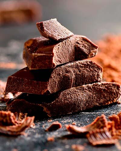 Chocolate para el pudín