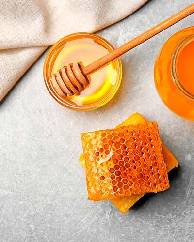 Miel para receta del pudín de chía