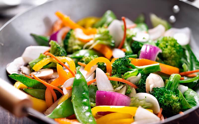 Vegetales para una dieta adecuada