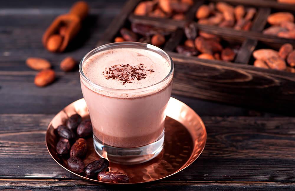 Receta bebida de cacao