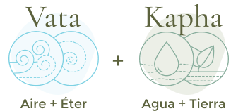 Vata - kapha combinación