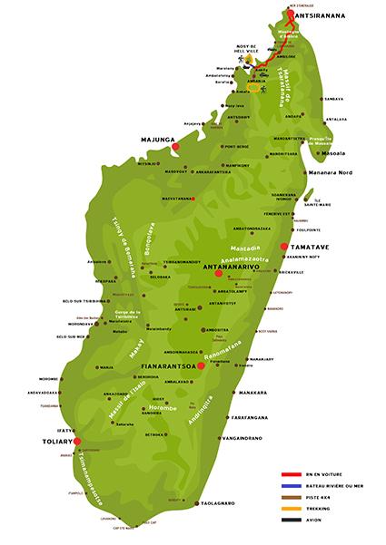 La découverte des sens à Madagascar