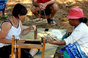 La soie de Madagascar