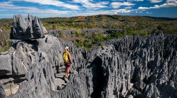 Géologie des Tsingy de Bemahara à Madagascar