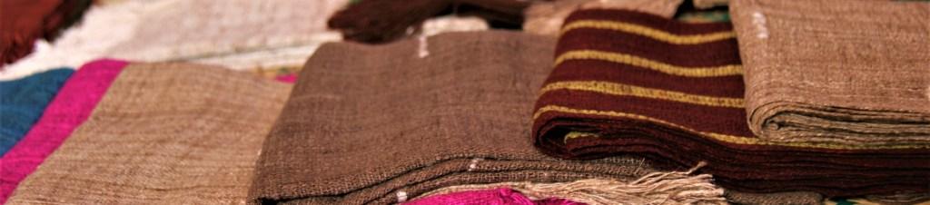 écharpe en soie de Madagascar