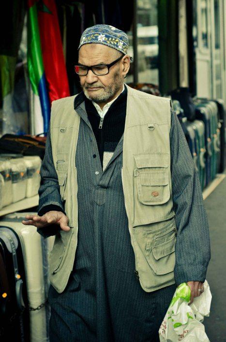 Portrait rue des possoiniers - goutte d'OR