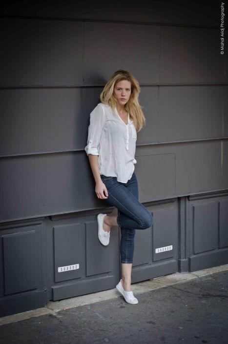 Justine photo plein pieds