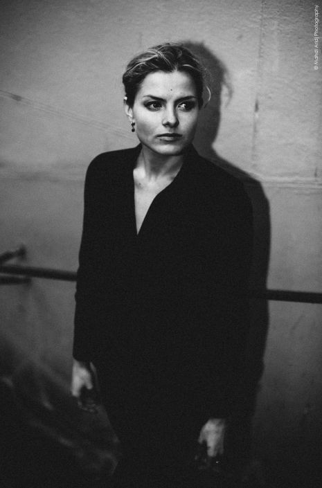 Kateryna zhulai portrait photography paris