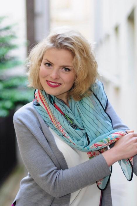Kateryna Zhulai smile