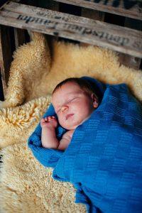 sleeping baby - bébé qui dort