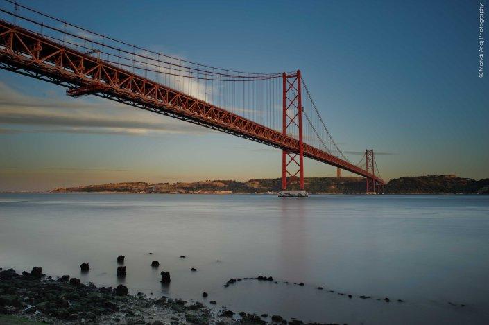 Pont du 25 avirl lisbon - paysage - landscape