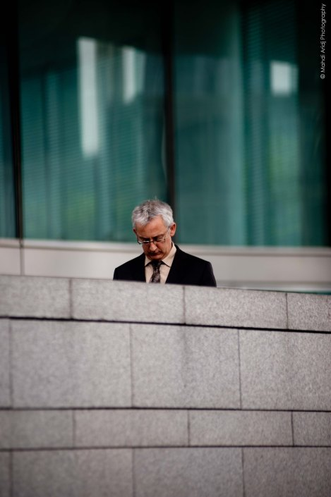 Ze boss - La défense - Street photography