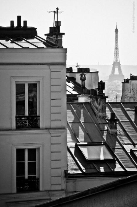 Eiffel tower - Montmartre - tour eiffel