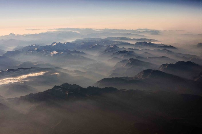 Flying over the Alps 7