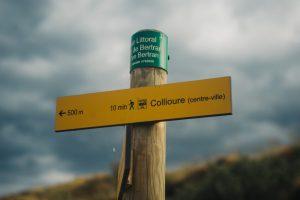Trek vers Collioure - Trekking to Collioure