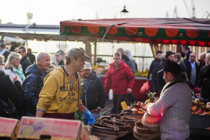 Hamburg fish market - Fischmarkt 24