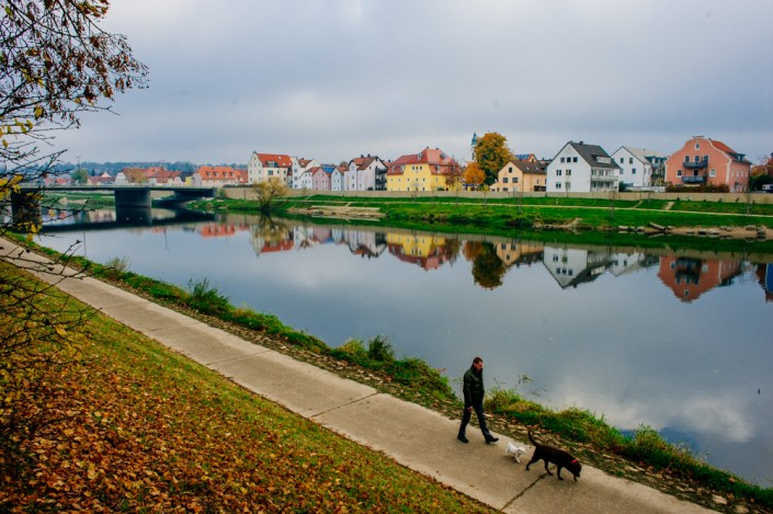 Visiting Regensburg in Autumn 14