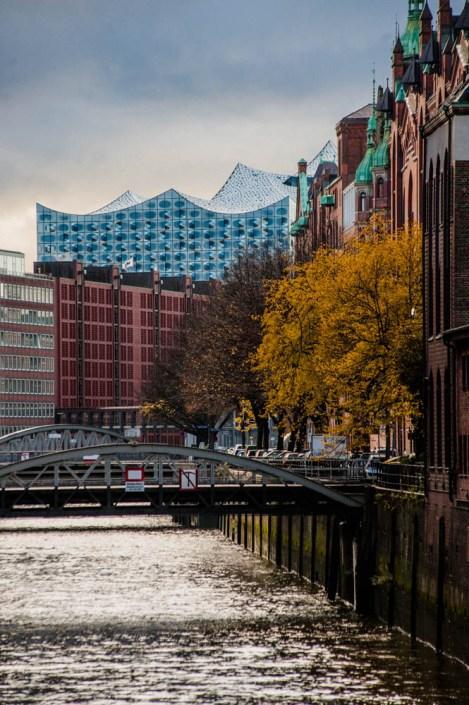 Elbphilharmonie from Speicherstadt - Hamburg