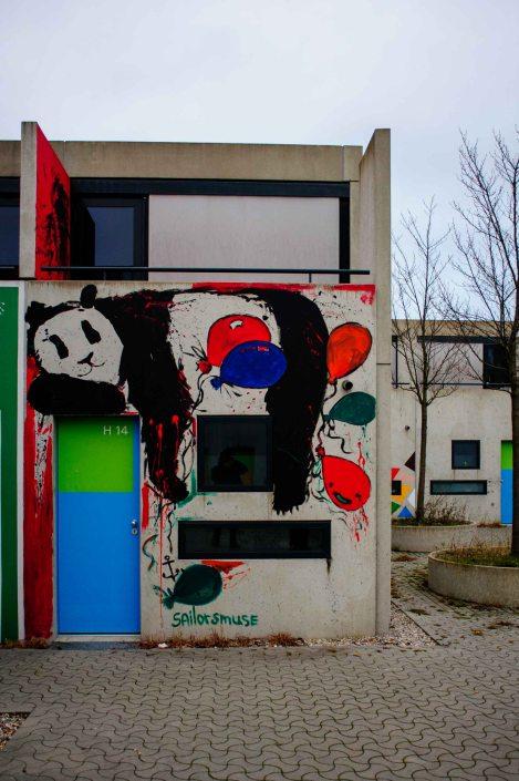 Village olympique de Munich reconverti en cité universitaire 19