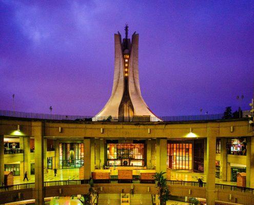 Maqam Echahid depuis Riadh El Feth - Mémorial du martyr - Alger - Houbel - Martyrs Memorial - Algiers view from the Riadh El Feth