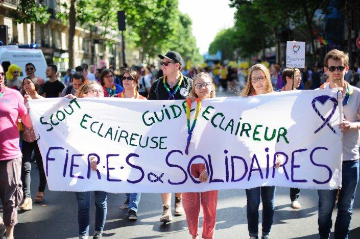 Marche des fiertés | Paris 2017 126