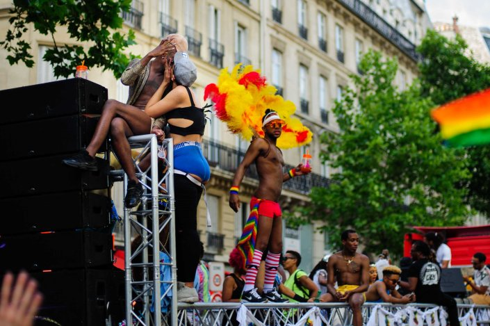 Marche des fiertés - LGBT pride march Paris 2017