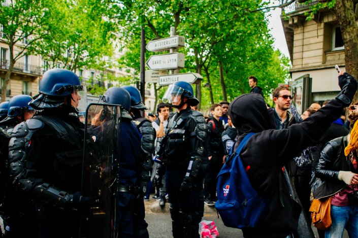 Manifestations du 1er Mai 2017 1