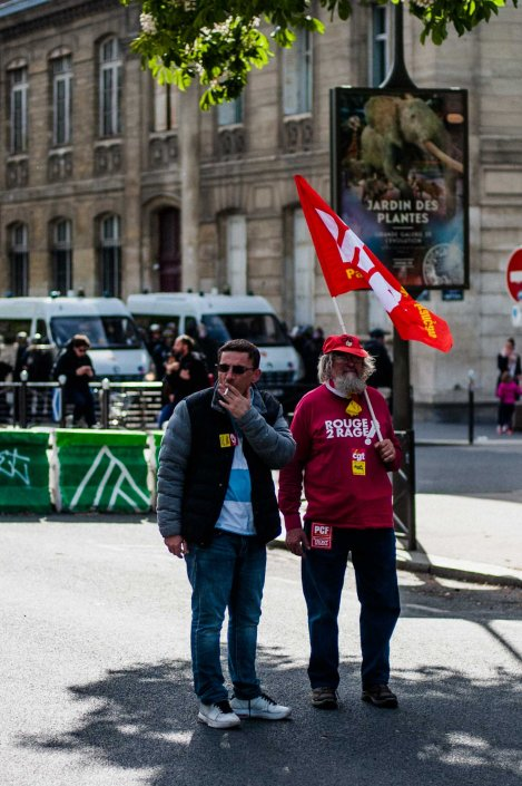 Manifestations du 1er Mai 2017 - Labor day - Paris 2017