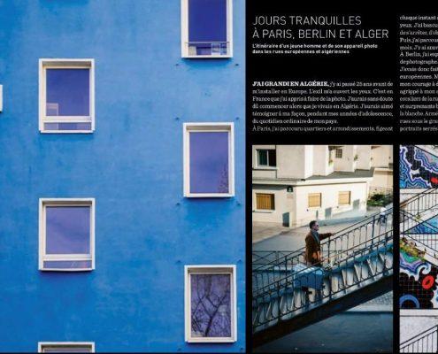 Jours tranquilles à Paris, Berlin et Alger