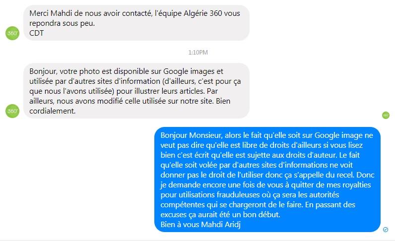 Copyright et non-respect des droits d'auteurs en Algérie- Algérie360