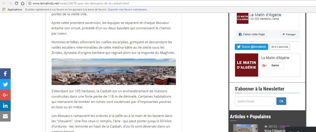 Copyright et non-respect des droits d'auteurs en Algérie - Lematin.dz