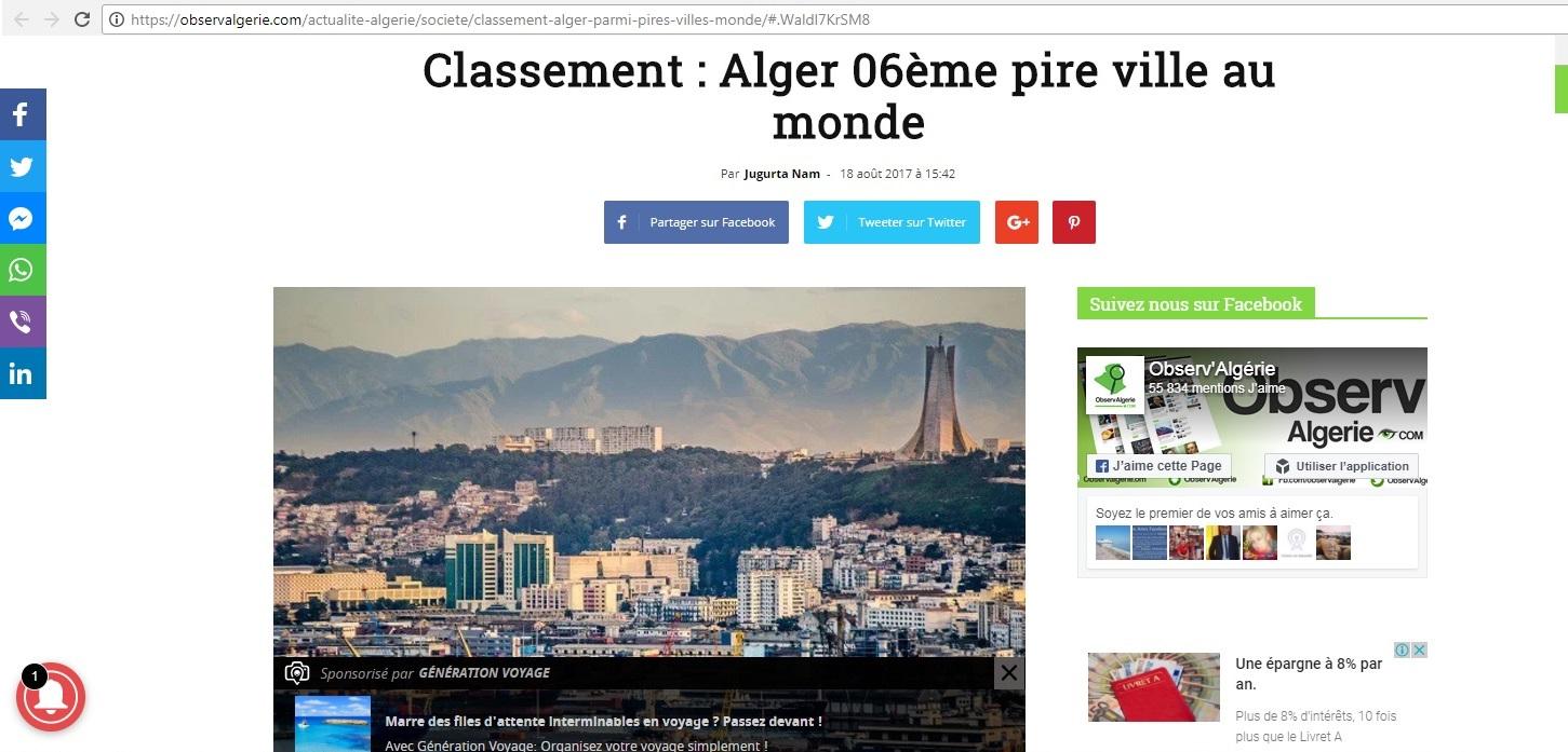 Copyright et non-respect des droits d'auteur en Algérie 20