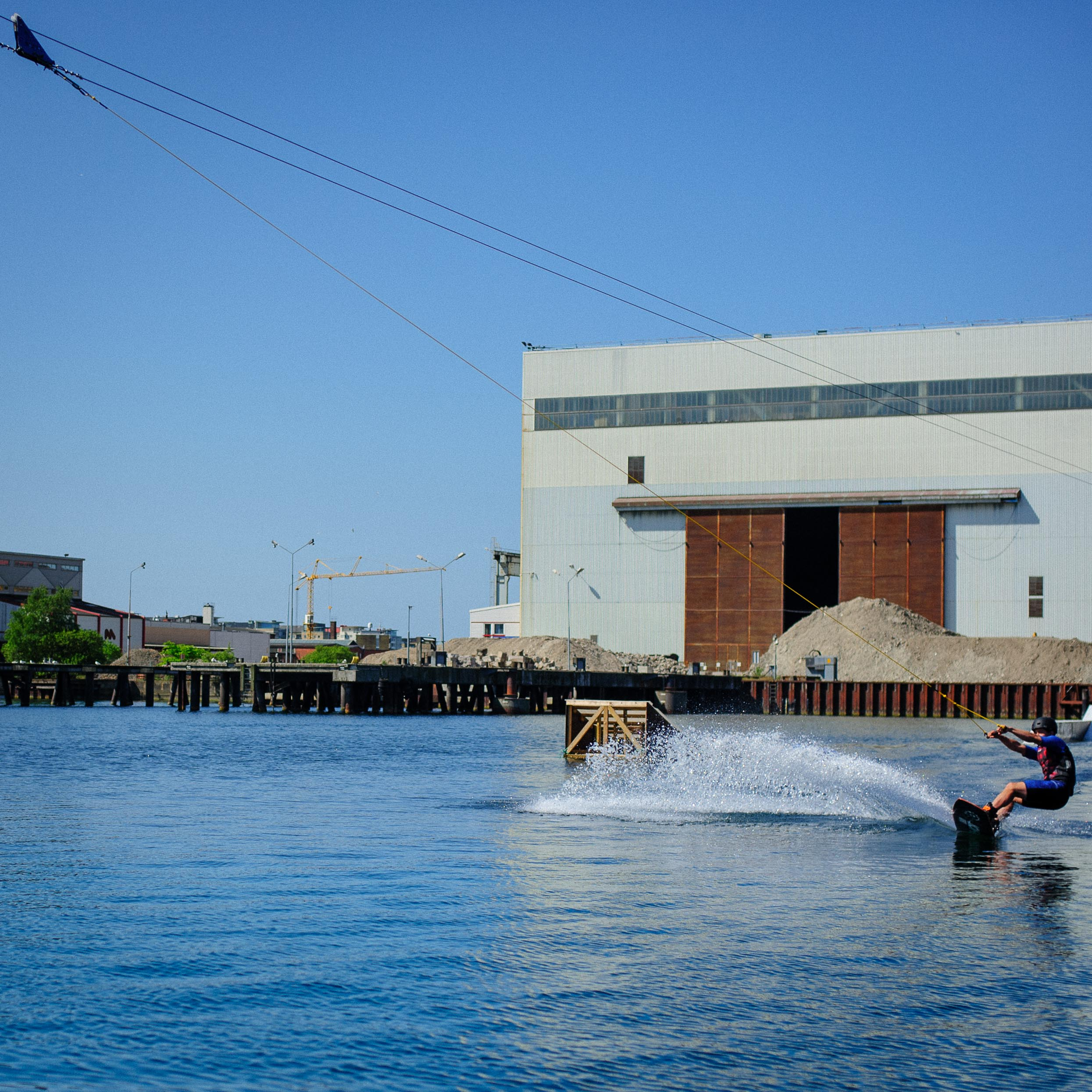 Cable wakeboard in Malmo 2