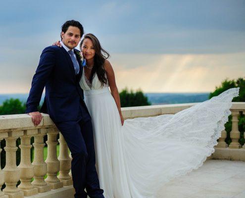 Photographe de mariage en Dordogne au domaine d'Essendiéras
